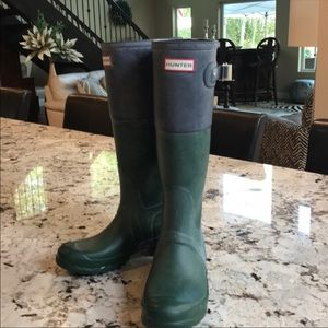 Hunter boots. Size 7.